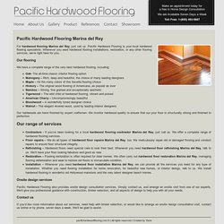 Wood Floors Marina Del Rey