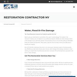 Restoration Contractor NY - Zil Concrete Contractor NYC