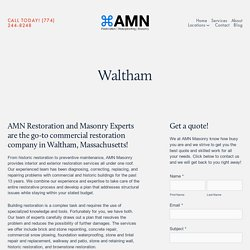 Patio & Walkway Services – AMN Masonry — AMN Mason — AMN Masonry – Building Restoration Services