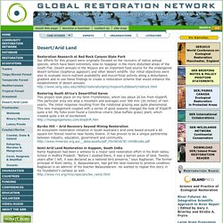 Global Restoration Network » Case Studies