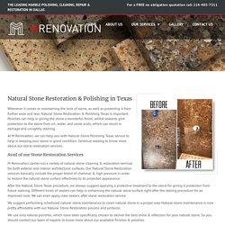 Natural Stone Restoration Polishing Dallas, Texas