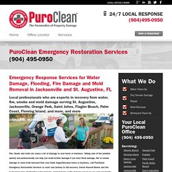 Water Damage Restoration & Mold Removal in Saint Augustine, Florida