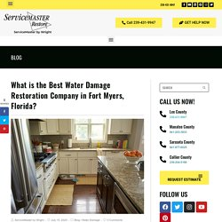 Best Water Damage Restoration Company in Fort Myers