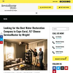 Best Water Restoration Company in Cape Coral, FL