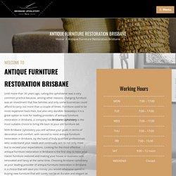 Antique Furniture Restoration Brisbane