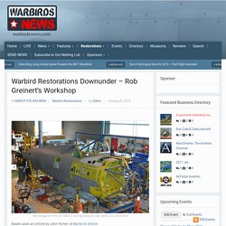 Warbird Restorations Downunder - Rob Greinert's Workshop - X HARS P-47D Thunderbolt # 42-8066
