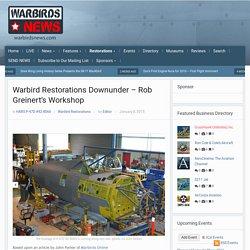 Warbird Restorations Downunder - Rob Greinert's Workshop - X HARS P-47D Thunderbolt # 42-8066