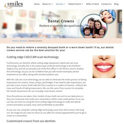 Restorative Dentistry, Dental Bridges crown at Reston – RTC Smiles