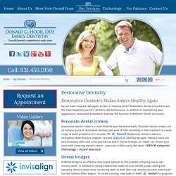 Restorative Dentistry - Dentures, Dental Bridges & Crowns in Rockwood, Sparta