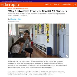 Why Restorative Practices Benefit All Students