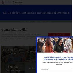 Six Tools for Restorative and Relational Practices