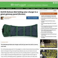 ReVIVE ReStore RA4 folding solar charger is a great gateway panel (Review)