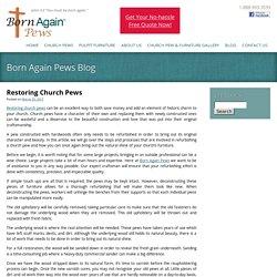 Restoring Church Pews