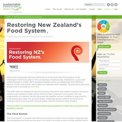 Restoring New Zealand's Food System - Sustainable Business Network