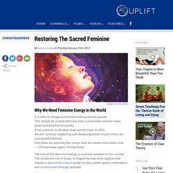 Restoring The Sacred Feminine