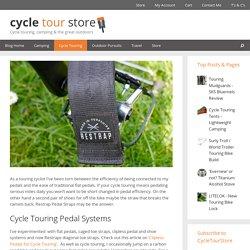 Restrap Diagonal Pedal Straps Review - Cycle Tour Store