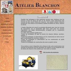 atelier blanchon, restrauration patrimoine, enduit pl tre et chaux, ma onnerie du b ti ancien, badigeon, decors
