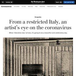 From a restricted Italy, an artist's eye on the coronavirus - Latest Covid 19 Corona Virus News, Corona Updates and Deals
