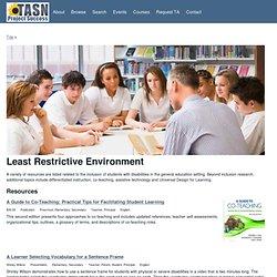 Least Restrictive Environment | Project Success