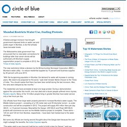 Mumbai Restricts Water Use, Fueling Protests | Circle of Blue |