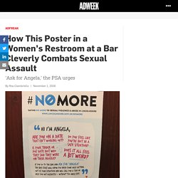 How This Poster in a Women's Restroom at a Bar Cleverly Combats Sexual Assault