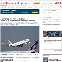 Air France. L'ampleur du plan de restructuration dévoilée lundi aux salariés