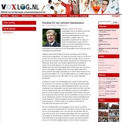 » Resultaat GV: een verbreed redactiestatuut Voxlog
