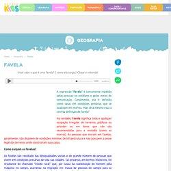 Favela. Favela: resultado das desigualdades sociais - Escola Kids