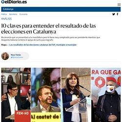 10 claves para entender el resultado de las elecciones en Catalunya