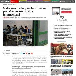 Malos resultados para los alumnos porteños en una prueba internacional