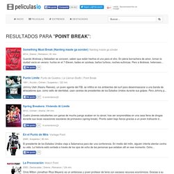 "Resultados para ""point break"""