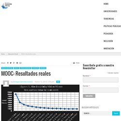 MOOC: Resultados reales
