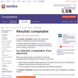Résultat comptable: composante - Ooreka