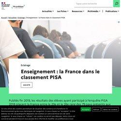 Résultats des élèves : la France et le classement PISA
