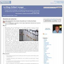 Le Blog d'Albert Amgar, résultats de recherche pour Décontamination et carcasses