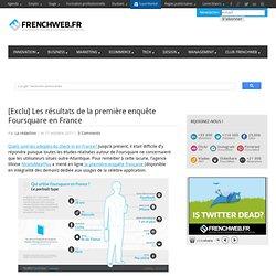 [Exclu] Les résultats de la première enquête Foursquare en France