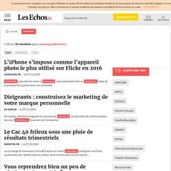 Résultats recherche lesechos.fr samsung indicateurs
