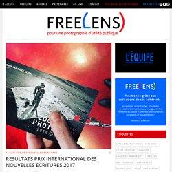 RESULTATS PRIX INTERNATIONAL DES NOUVELLES ECRITURES 2017