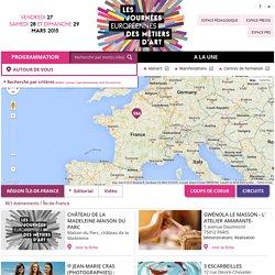 Journées Européennes des Métiers d'Art 2015 - JEMA