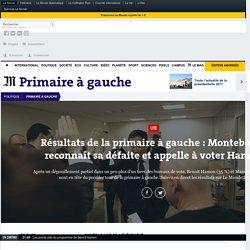 Résultats de la primaire à gauche: Montebourg reconnaît sa défaite et appelle à voter Hamon