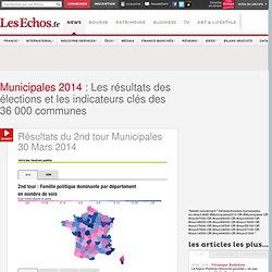 Municipales 2014: résultats des élections et indicateurs économiques