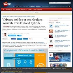VMware solide sur ses résultats s'oriente vers le cloud hybride - ZDNet