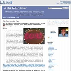 Le Blog d'Albert Amgar, résultats de recherche pour Biofilm