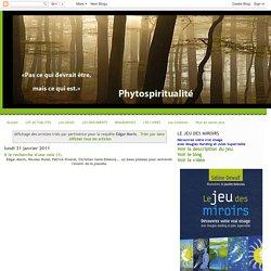 Phytospiritualité: Résultats de recherche pour Edgar Morin