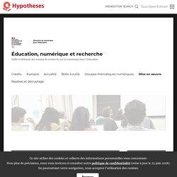 Résultats de recherche pour «09» – Éducation, numérique et recherche