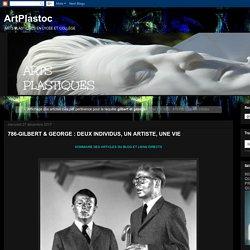 ArtPlastoc: Résultats de recherche pour gilbert et george