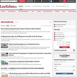 Résultats recherche lesechos.fr bilans
