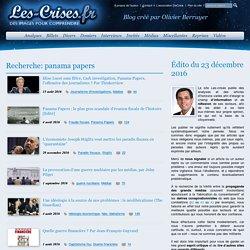 » Résultats de recherche » panama papers
