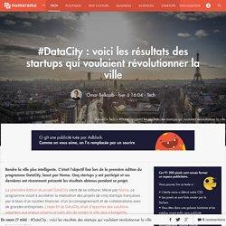#DataCity : voici les résultats des startups qui voulaient révolutionner la ville - Tech