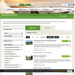 Search results for where to stay caravan and camping in Cork